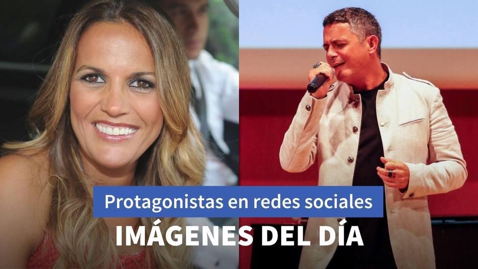Imágenes del día: la vuelta de Marta López a Telecinco y el Tiktok de Alejandro Sanz que se convierte en viral