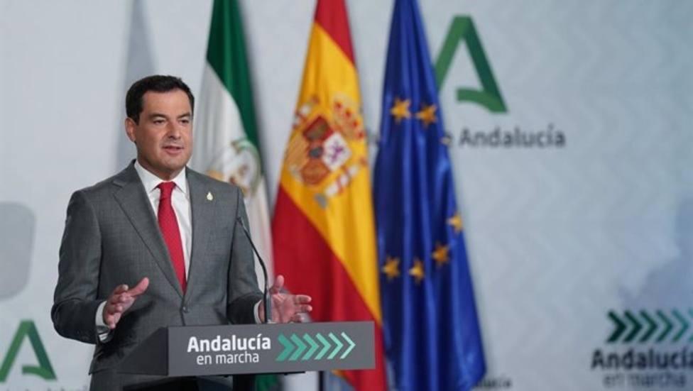 Moreno anuncia el Plan Andalucía en Marcha, que movilizará 3.450 millones en inversiones hasta 2023
