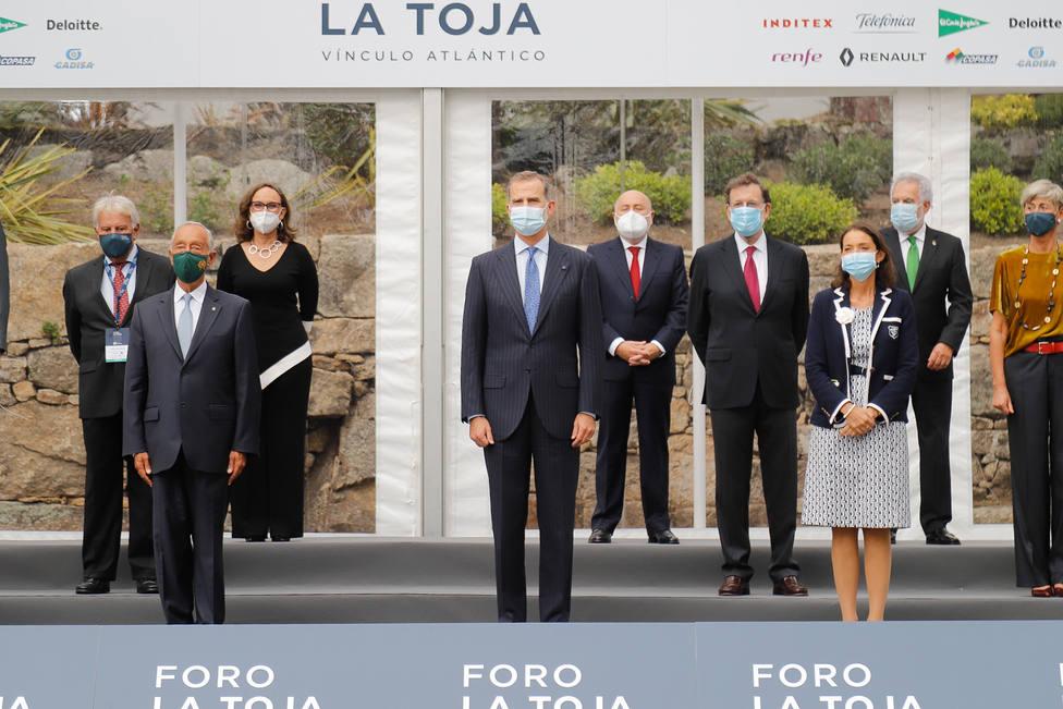 El Rey Felipe VI inaugura el II Foro La Toja