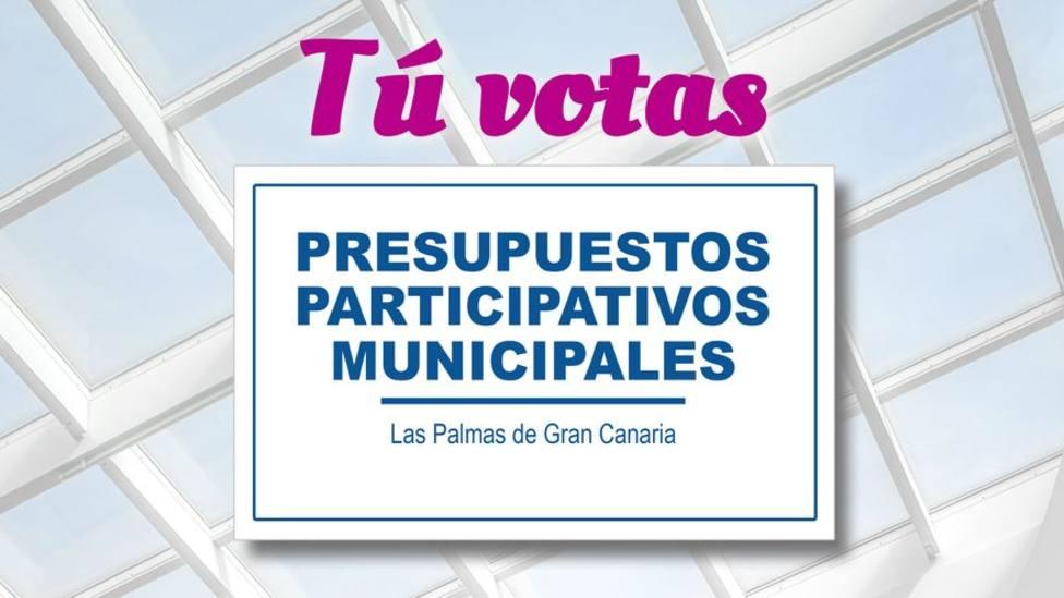 Las Palmas de Gran Canaria invita a votar en sus presupuestos participativos