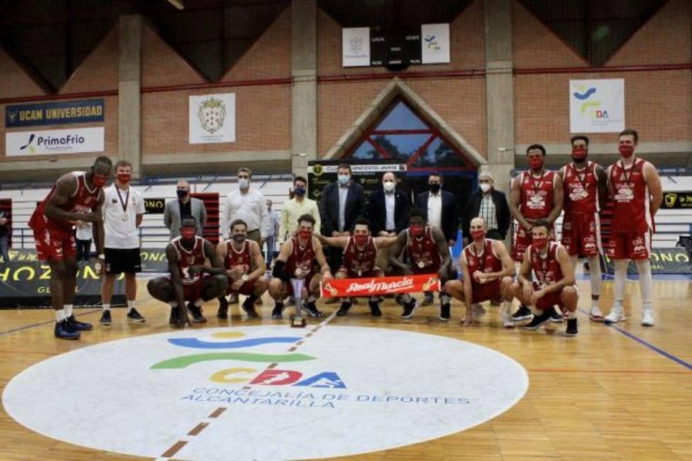 Real Murcia Baloncesto gana la Copa Presidente al Jairis en Alcantarilla (51-71)