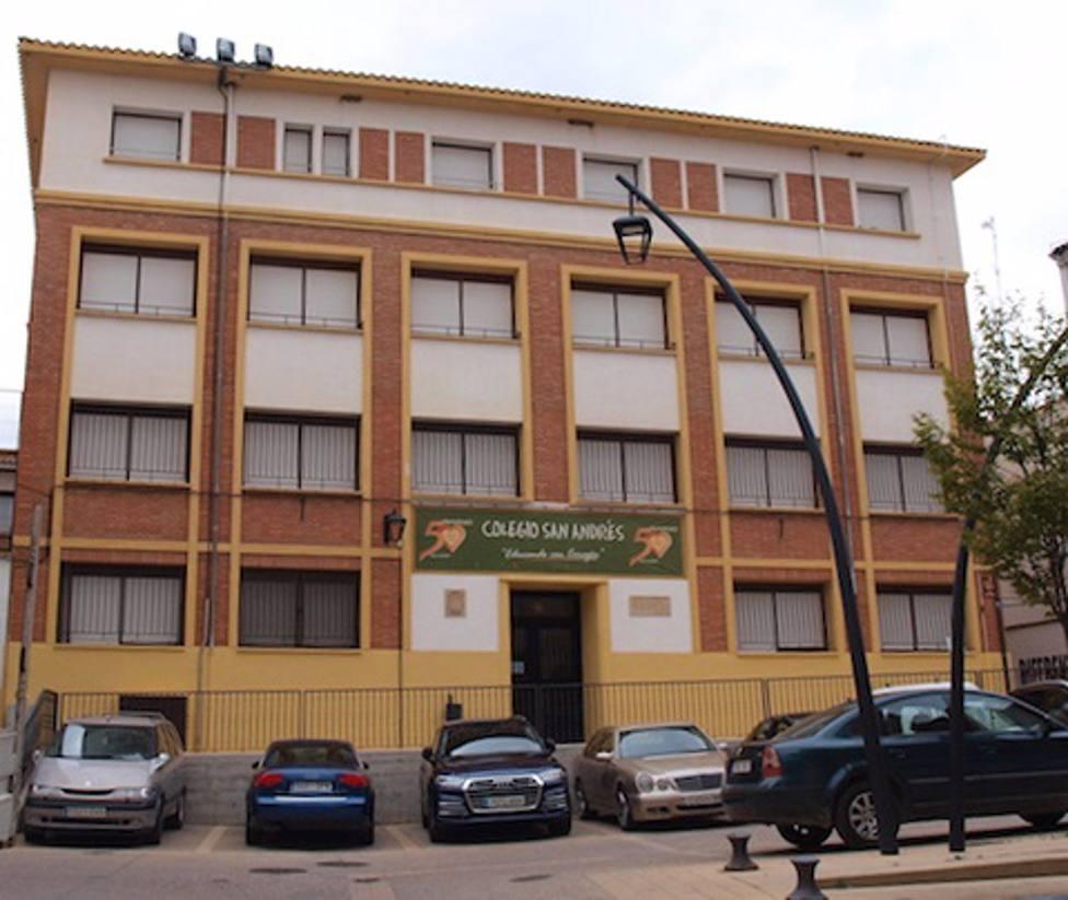 Casi un 10% de los alumnos y el personal del colegio San Andrés de Calahorra da positivo por COVID-19