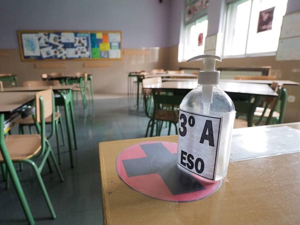 desinfeccion aulas colegios cuarentena coronavirus covid-19