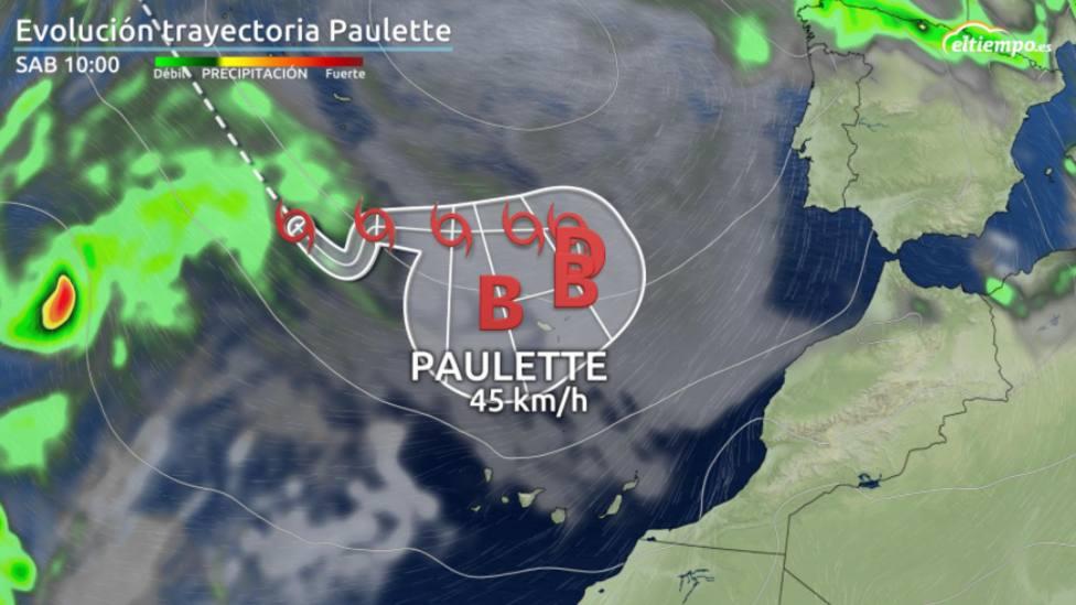¿Por qué cada vez másciclones tropicales se acercan a España?