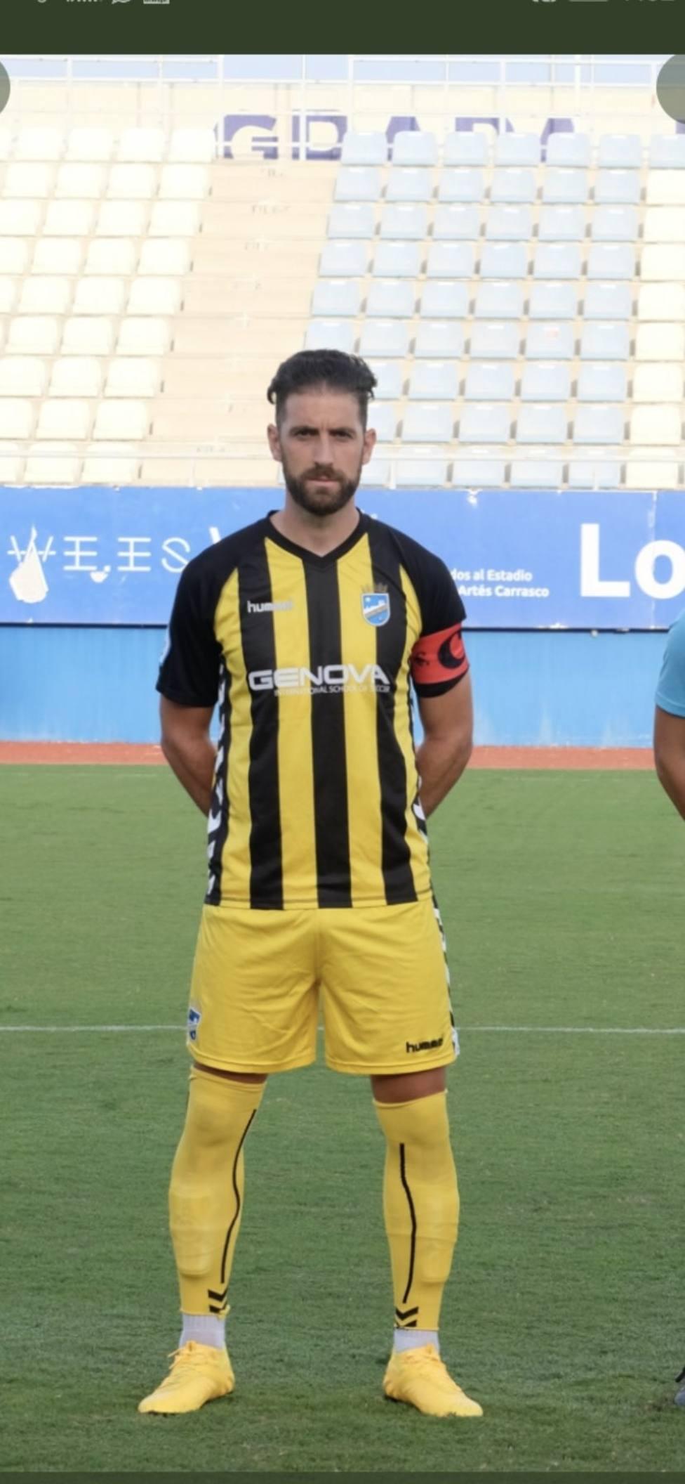 David Valdeolivas, el primer jugador que se marcha del Lorca FC