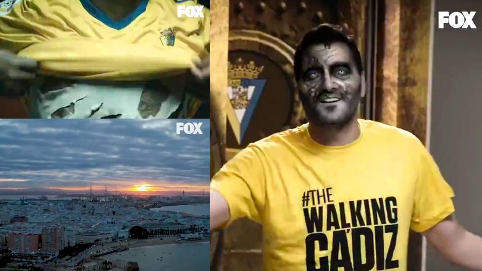 Algunos de los fotogramas del trailer The Walking Cádiz