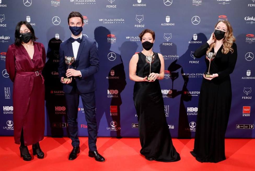 Las niñas y Antidisturbios, vencedoras en los Premios Feroz