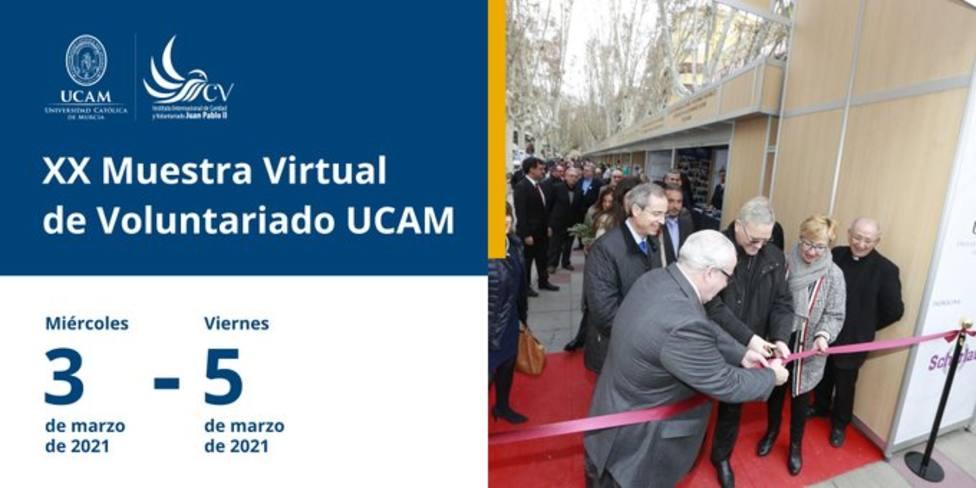 Comienzan las XX jornadas UCAM de 'Voluntariado, Fraternidad y Amistad Social'
