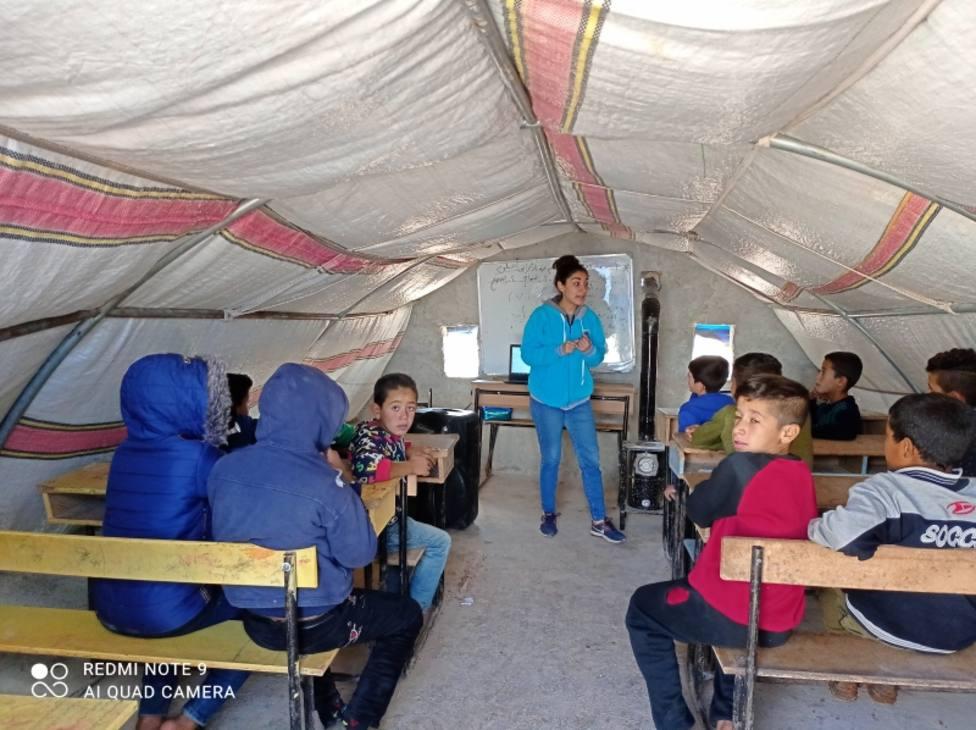 La implicación de Manos Unidas en la ayuda al pueblo sirio