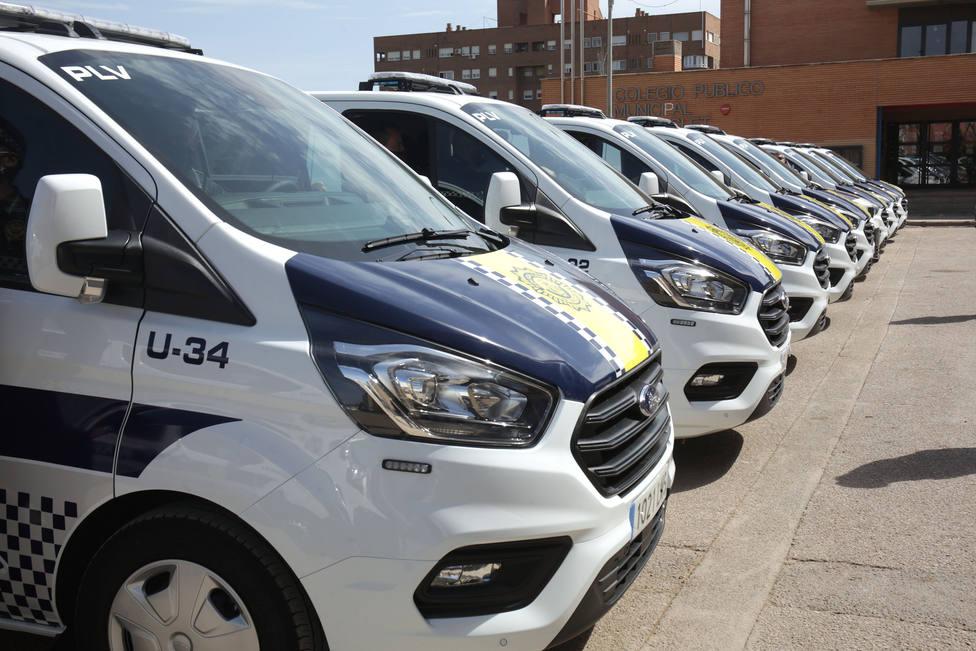 Nuevas furgonetas Policía Local València