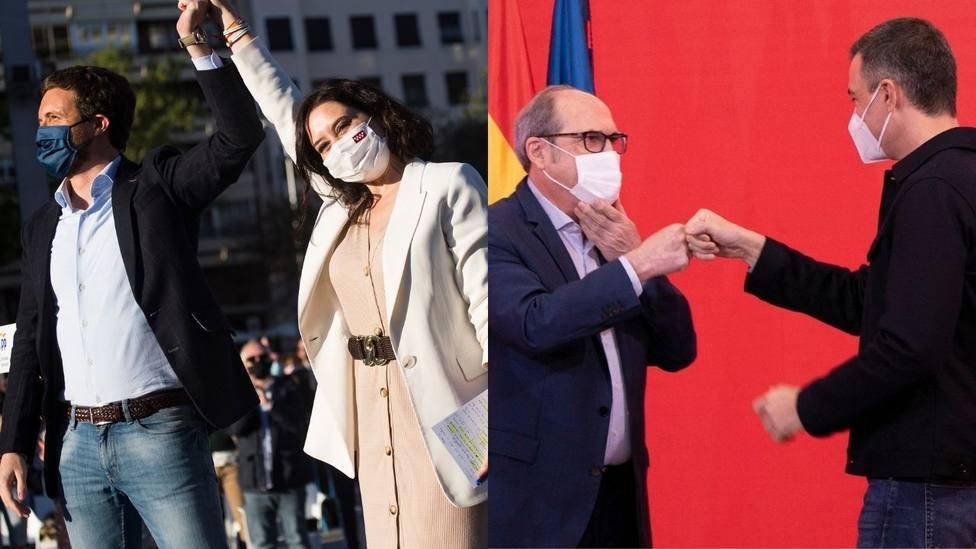 La política nacional, protagonista en las elecciones madrileñas