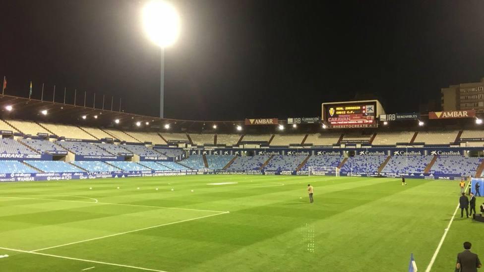 El Sporting juega en Zaragoza con el sonido en directo de COPE ASTURIAS