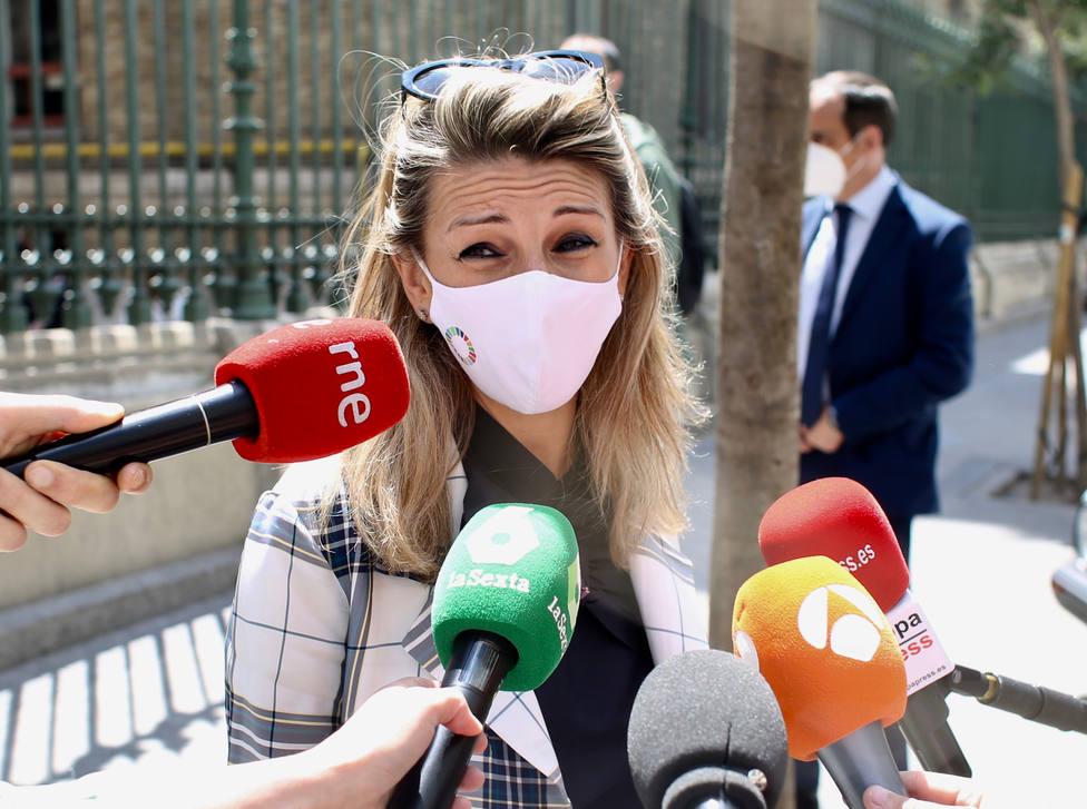 Yolanda Díaz llama a cambiar Madrid y hacer historia en este 4M