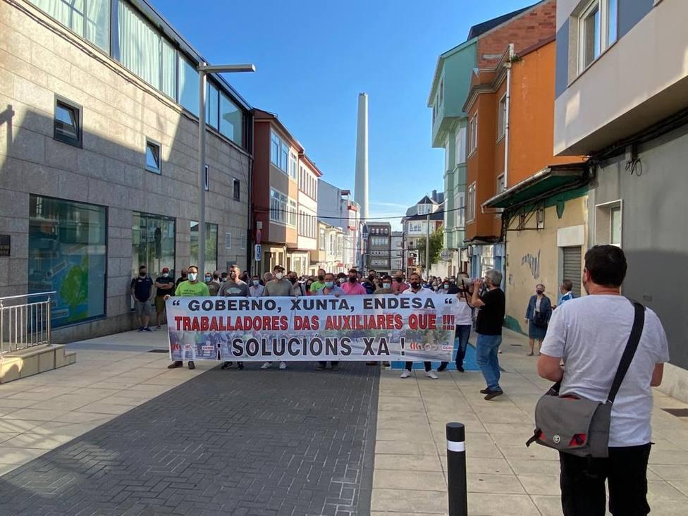 La movilización discurrió por varias calles de la localidad - FOTO: Cedida
