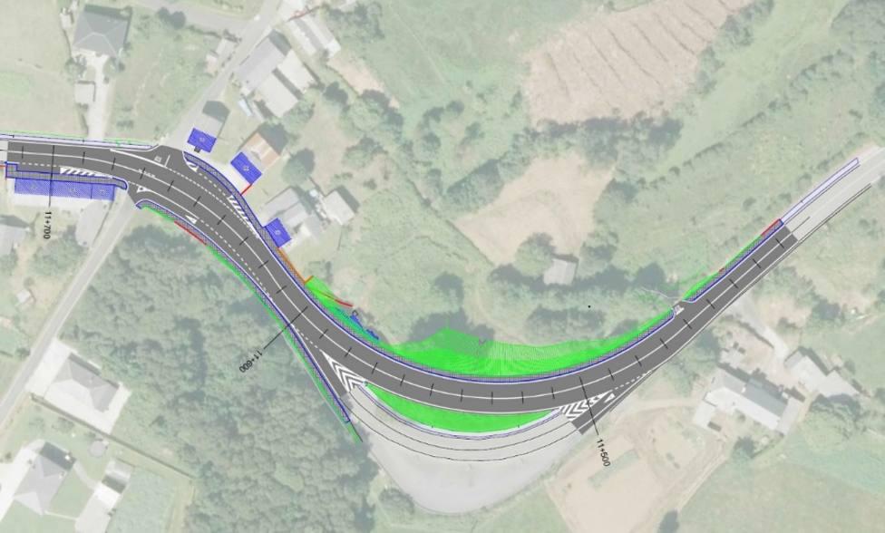 Las obras se llevarán a cabo en la carretera AC-110 a su paso por As Somozas