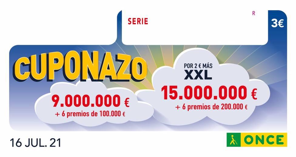 El Cuponazo de la ONCE reparte 195.000 de euros en Castilla-La Mancha