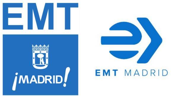 El nuevo logo de la EMT
