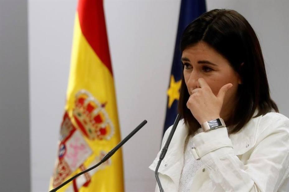 Carmen Montón dimite como ministra de Sanidad