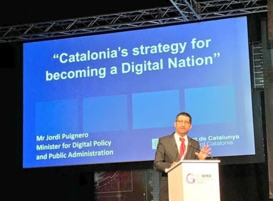 El Govern lleva a Dubái el modelo de República digital catalana