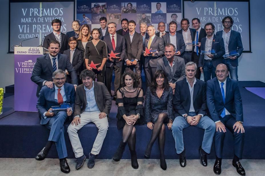 Carlos Sainz, Ana Carrasco y Alejandro Valverde, galardonados en los Premios María de Villota