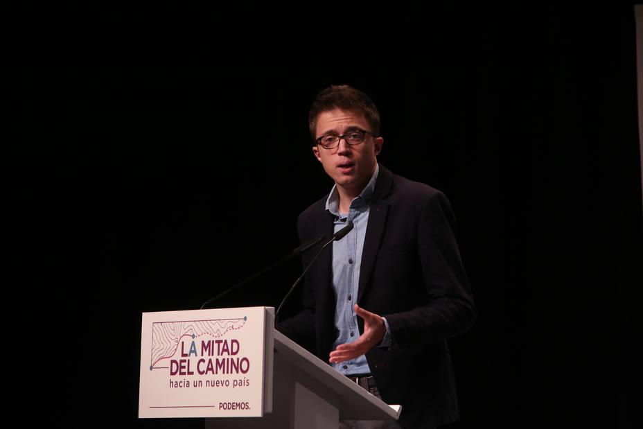 Errejón exige a Pedro Sánchez esforzarse para sacar adelante el acuerdo de PGE: No puede bajar los brazos