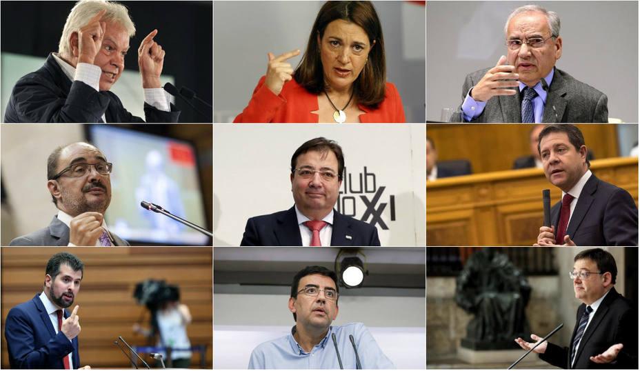 El socialismo también se manifiesta contra las humillaciones de Sánchez a España
