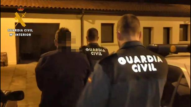 La Guardia Civil detiene, en Tricio, a un preso huido de la cárcel de Logroño durante un permiso penitenciario