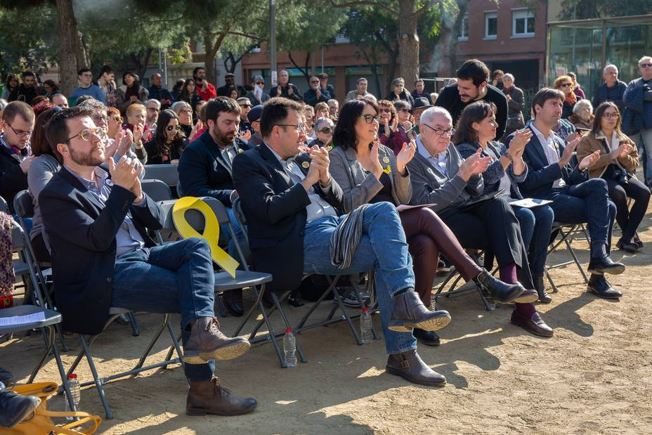 Aragonès pide más valentía ante Vox y afirma que ERC no renunciará a sus objetivos