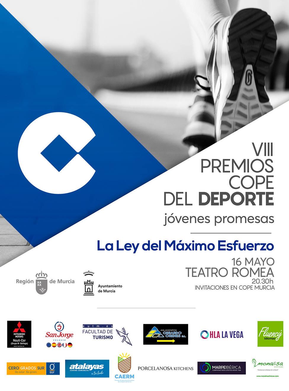 VIII Premios COPE del Deporte, Jóvenes Promesas