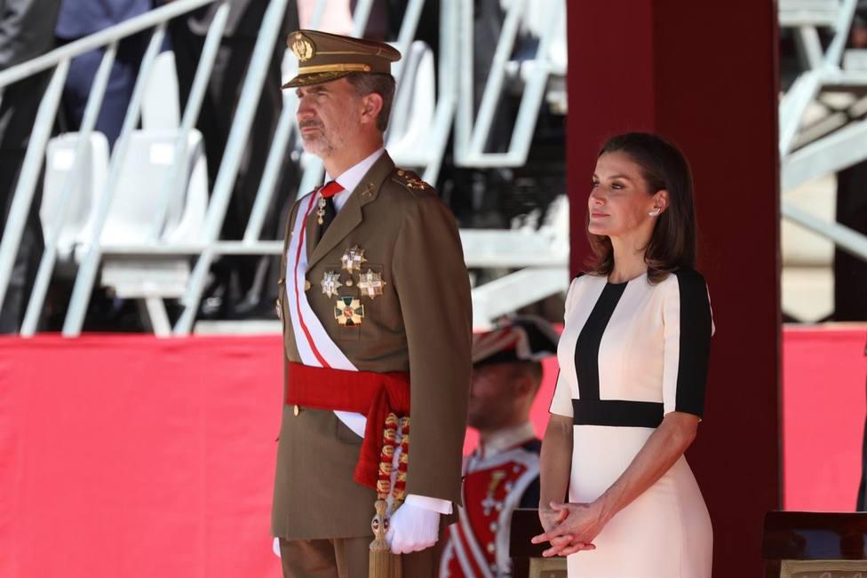 SSMM los reyes Felipe y Leticia