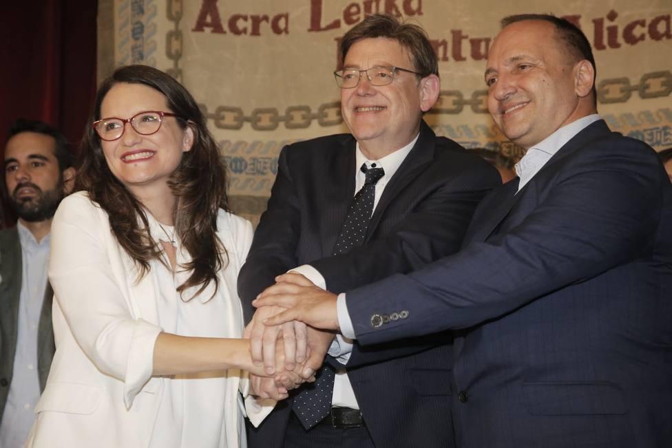 Puig defiende que la presencia de Podemos en el Govern valenciano dará más estabilidad: Estamos hoy mejor que ayer