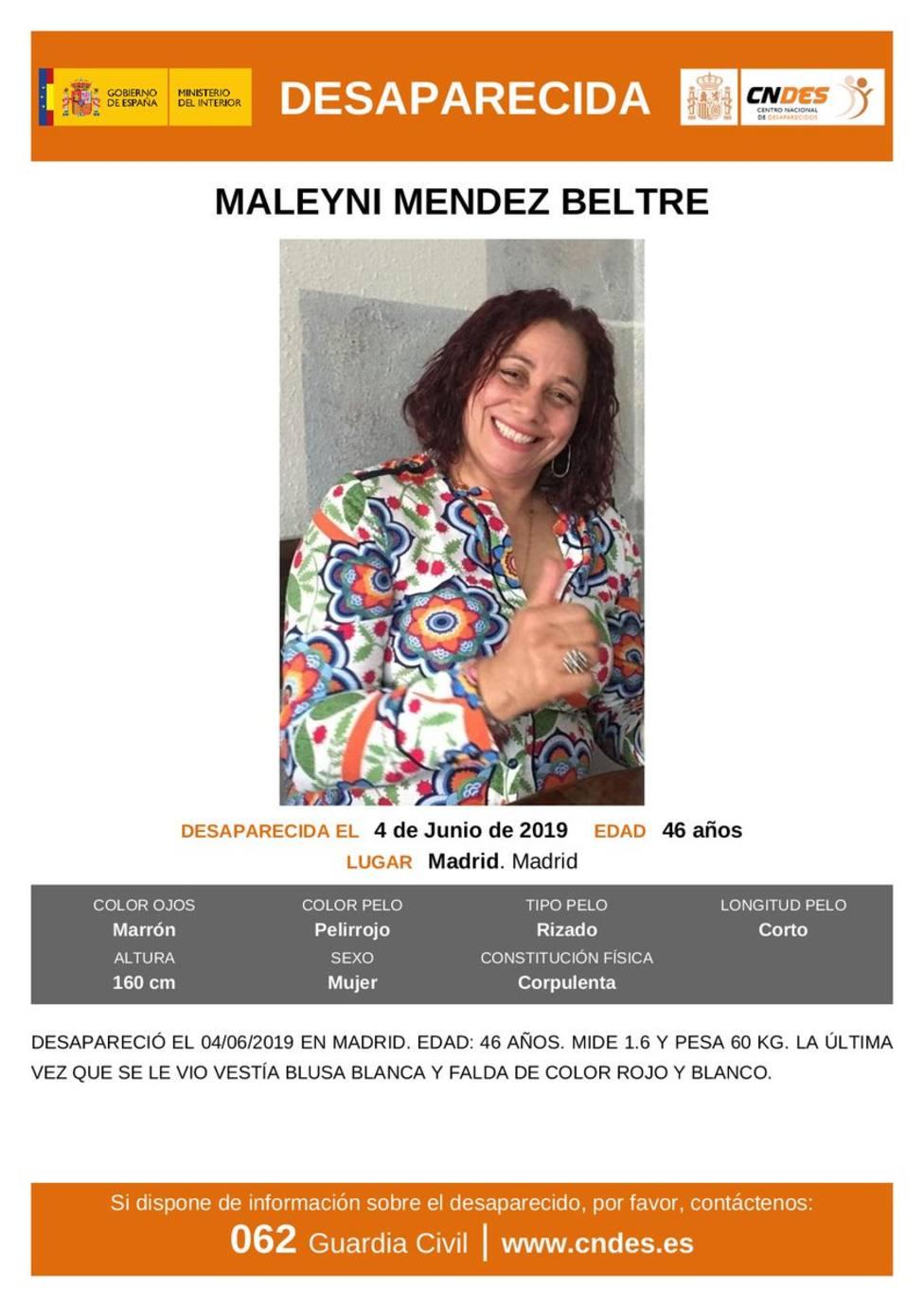 La Guardia Civil busca a una mujer de Bembibre desaparecida en Madrid hace 10 días