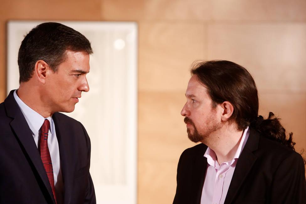 Sánchez traslada a Iglesias el ultimátum del PSOE: No les darán competencias en las materias que pide Podemos