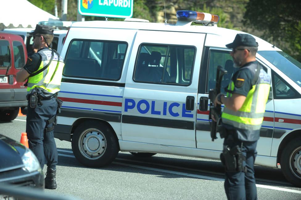 La Policía gala detuvo anoche a 17 activistas contra el G7 en la localidad vasco francesa de Urrugne