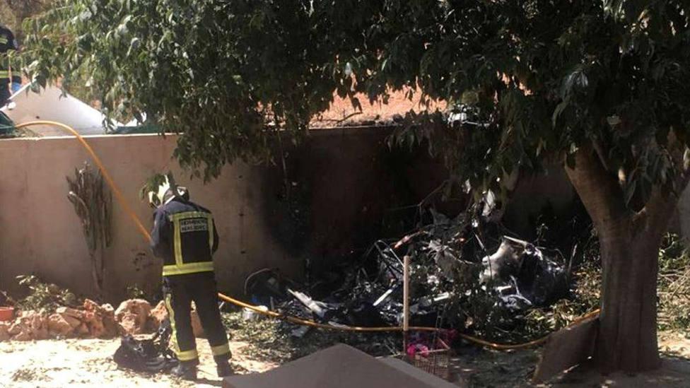 5 muertos tras chocar en el aire un helicóptero y una avioneta en Mallorca