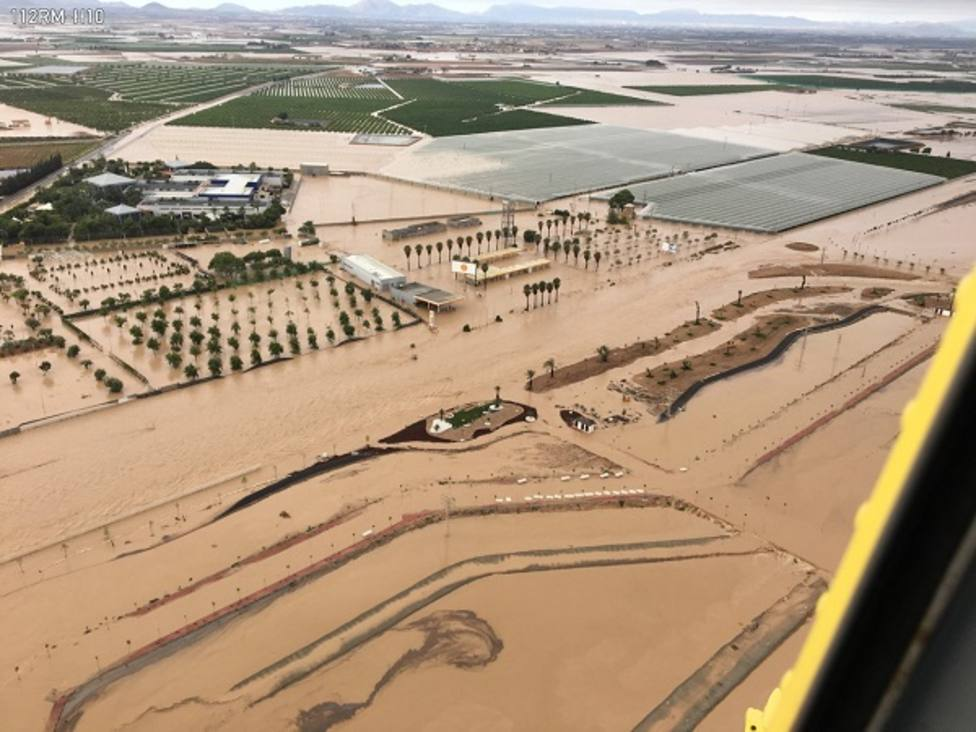 Imágenes tomadas esta mañana por el helicóptero de la Dirección General de Seguridad Ciudadana y Emergencias