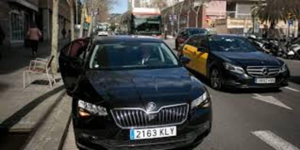 Vehículo VTC en Barcelona