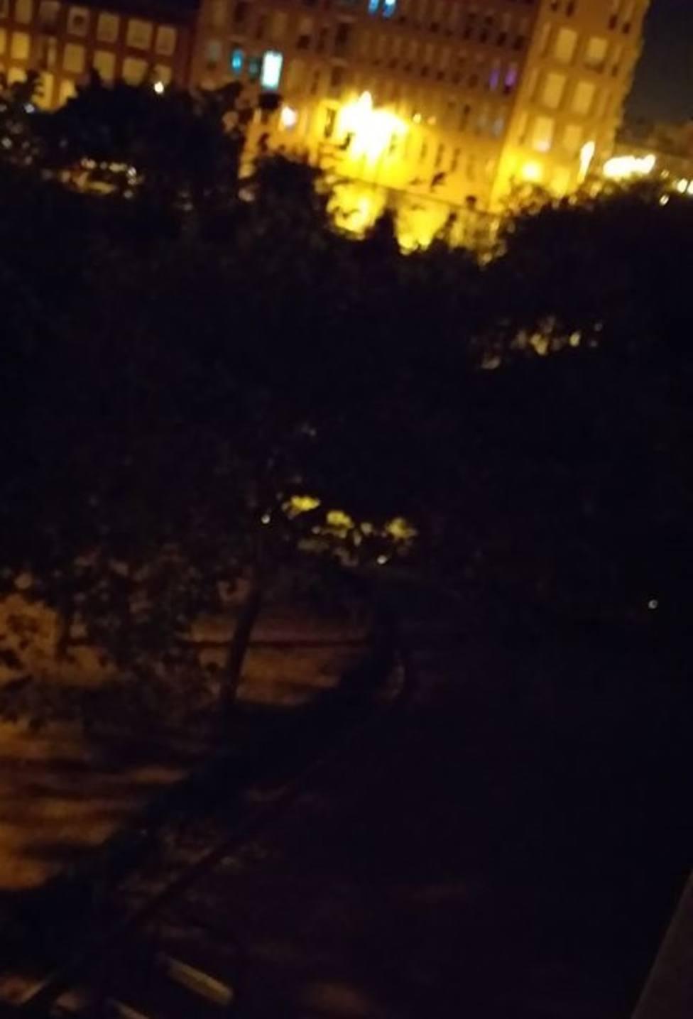 Sin luz en la calle Río Navia