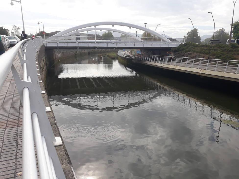 Tramo del río Piles con altos niveles de E-coli