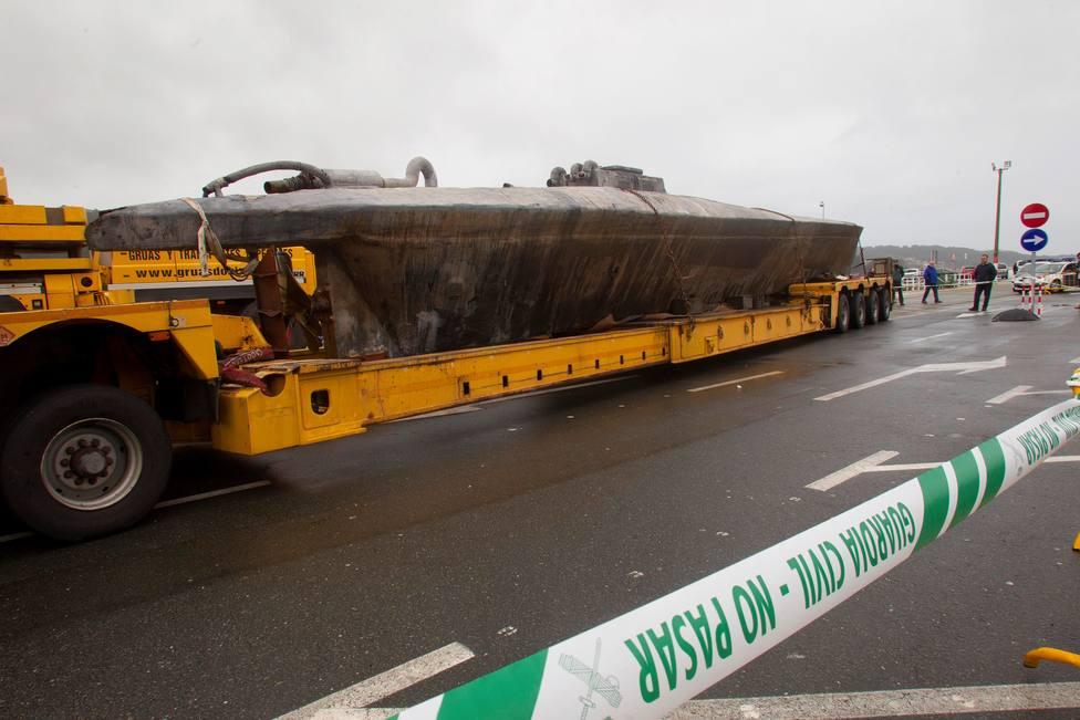 El cargamento del narcosubmarino supone el 20 por ciento de la cocaína incautada en un año