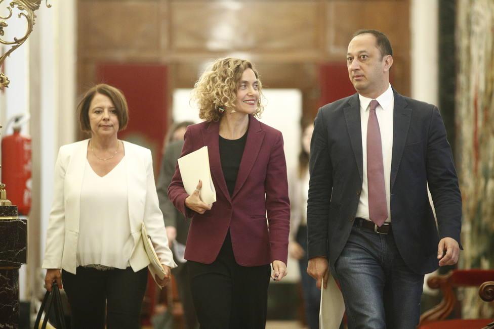 PSOE y Unidas Podemos se aseguran tres Secretarías del Congreso y dejan fuera a Vox y Ciudadanos