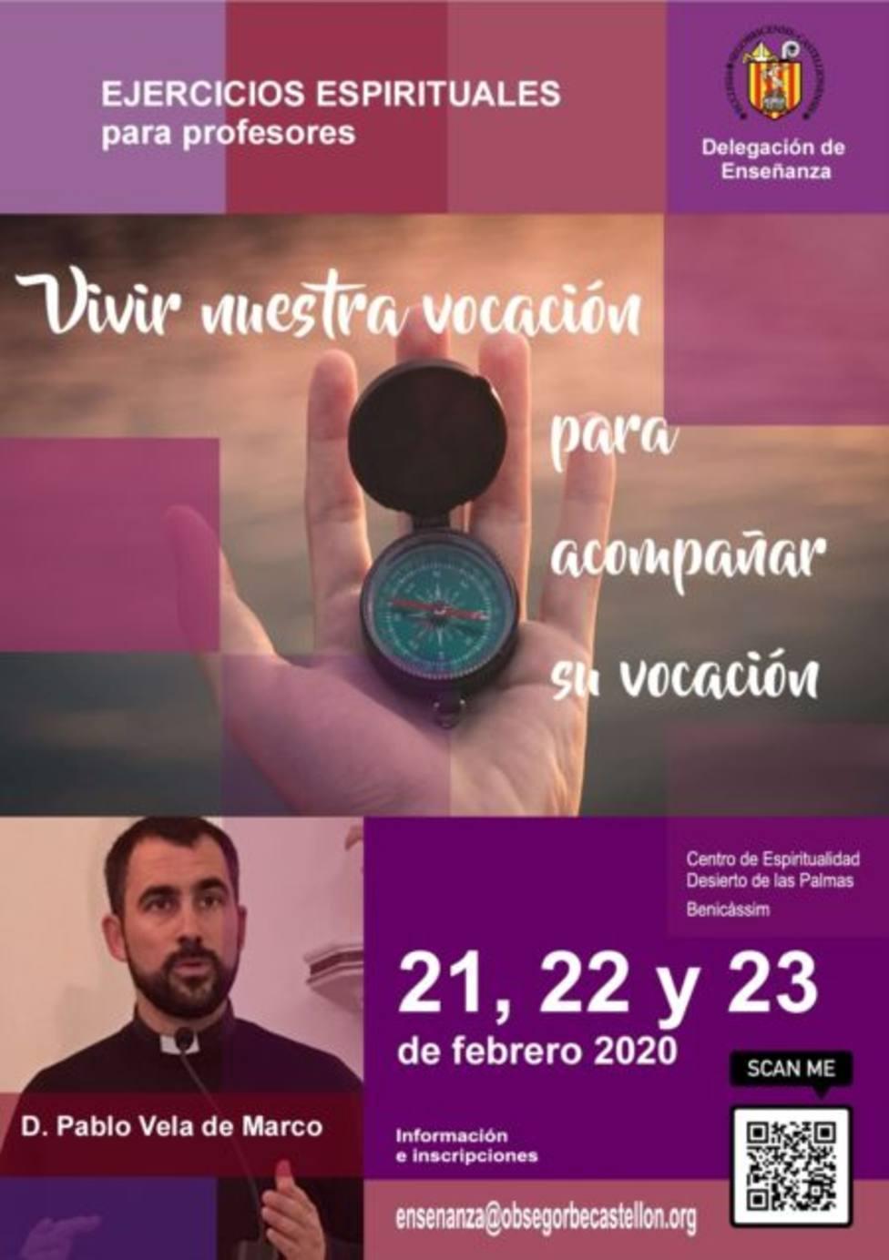 Fin de semana de ejercicios espirituales para profesores