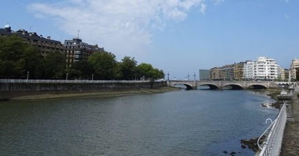 foto del Rio Urumea de San Sebastian