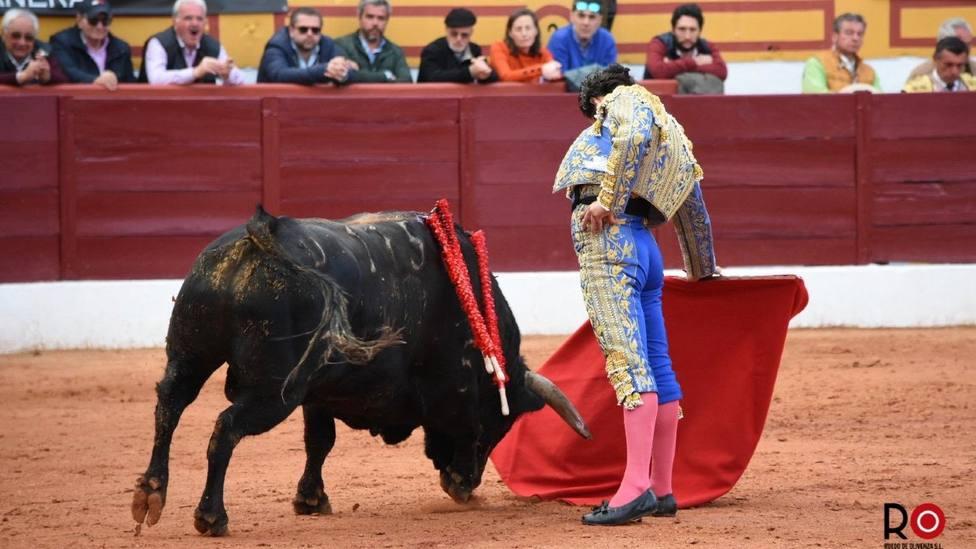 Morante de la Puebla firmó el muletazo más rotundo de la tarde final de Olivenza