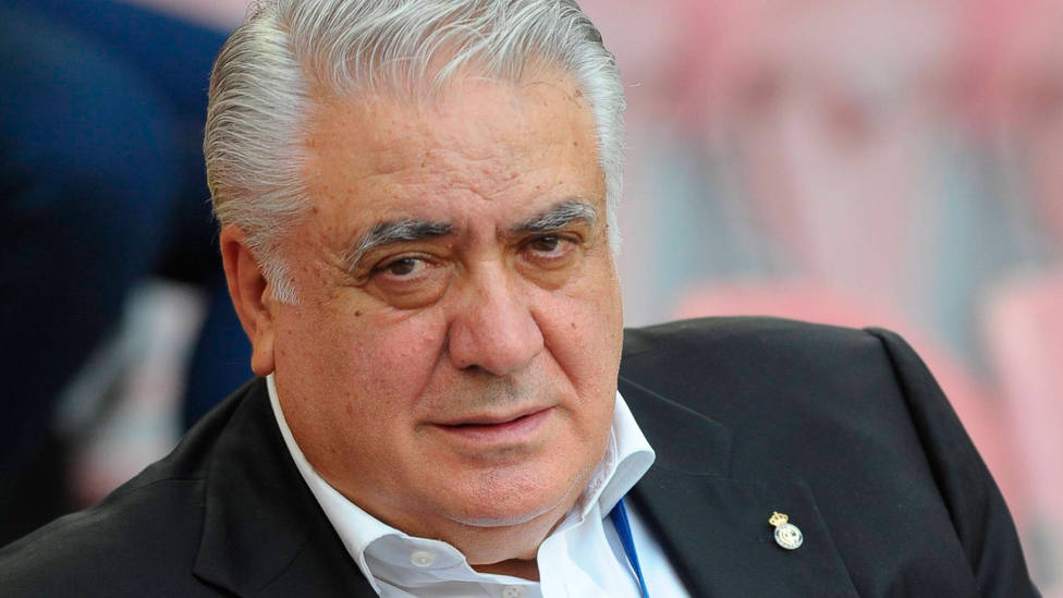 Lorenzo Sanz, ex presidente del Real Madrid. CORDONPRESS