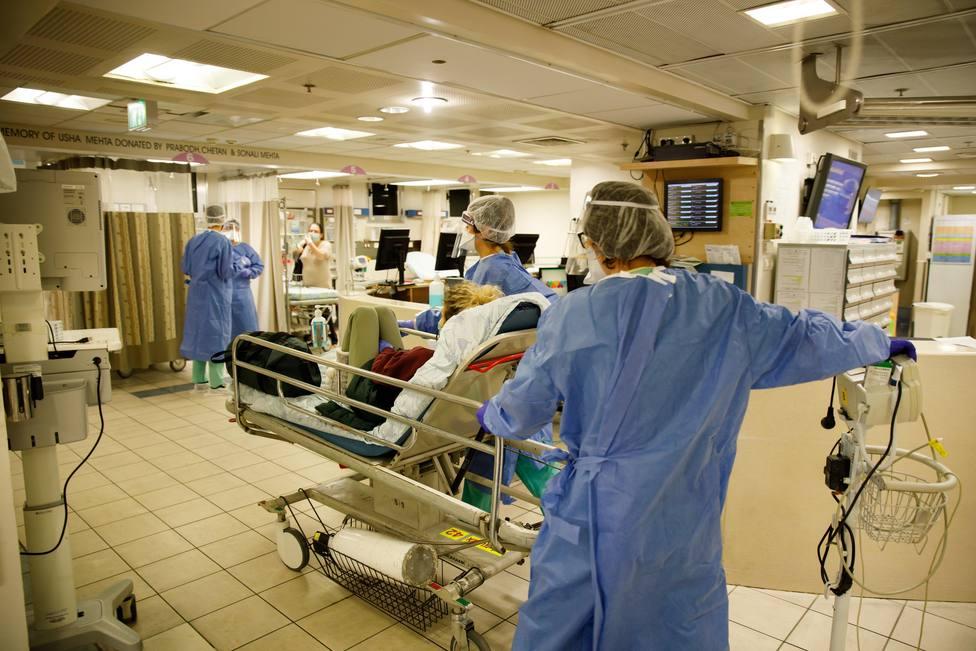 Foto de archivo de una zona de atención a personas afectadas por coronavirus - FOTO: Europa Press / Ziv Koren