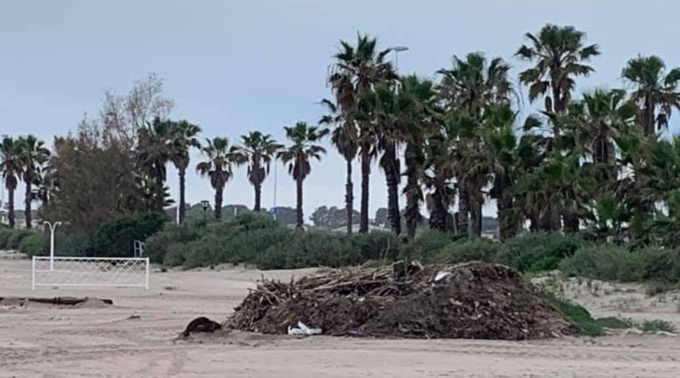 Las playas de la ciudad de Castellón aún no están acondicionadas