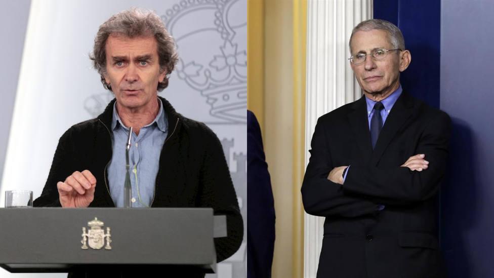 Las diferencias entre Fernando Simón y Anthony Fauci, el experto contra el COVID que se enfrentó al Gobierno