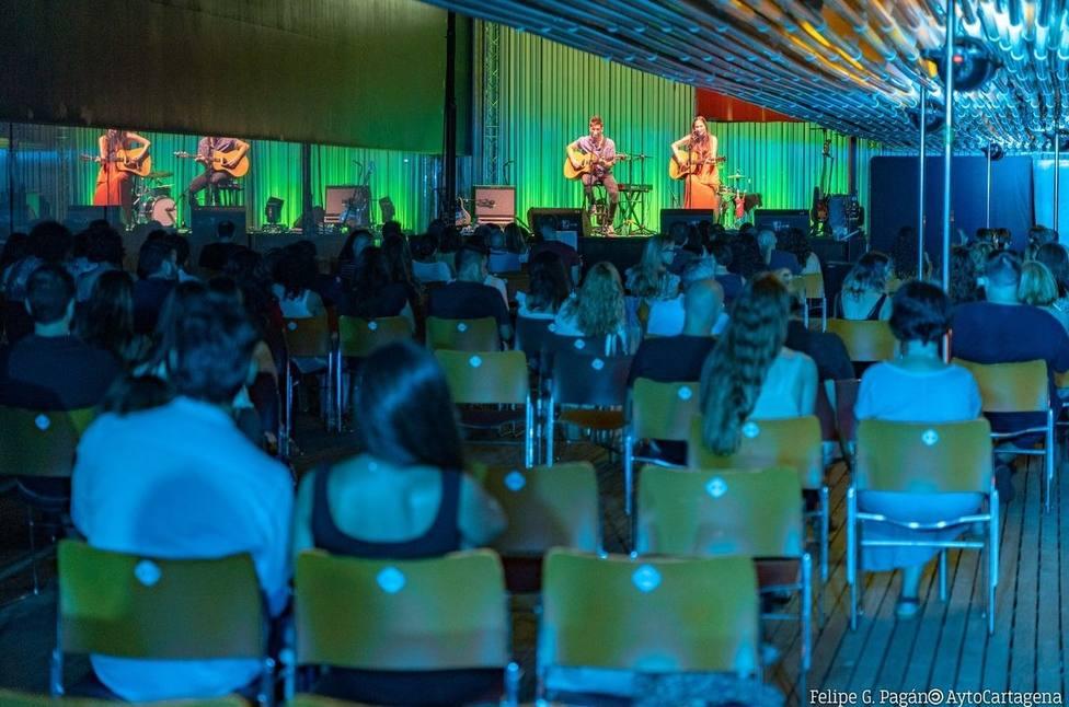El Ayuntamiento de Cartagena establece el uso obligatorio de mascarilla en todas sus programaciones culturales