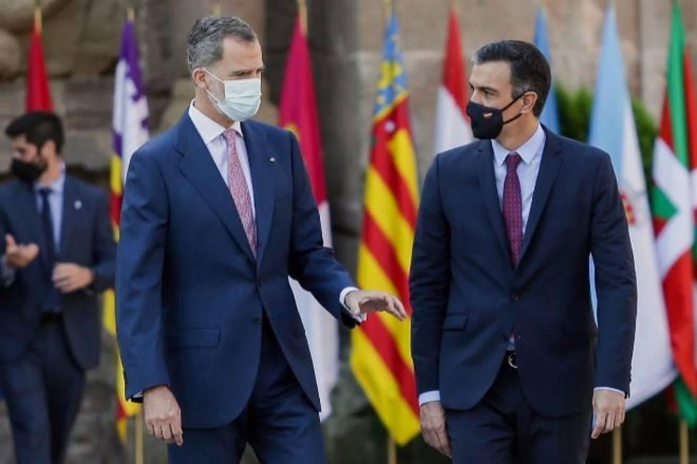 El Rey Felipe VI y Sánchez despachan este miércoles en su primer encuentro tras la marcha de Juan Carlos I